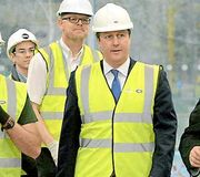David Camerons Spirit Soars During Visit to i54 South Staffordshire