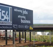 Major business site works on i54 South Staffordshire reaching final phase