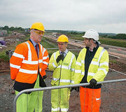 President of the ICE visits i54 South Staffordshire